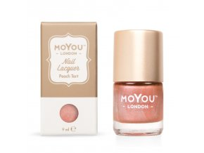 Pečiatkovací lak na nechty - Peach Tart 9 ml