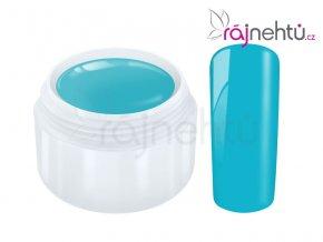 Raj nechtov Farebný UV gél POPART - Turquoise 5 ml