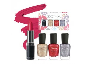 Zoya Lips & Tips Quad - SEASHELLS SUMMER