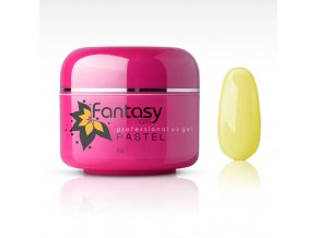 Farebný UV gél Fantasy Pastel 5g - Light Yellow