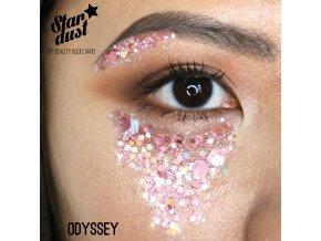 Stardust - vodoodolné trblietky na telo a vlasy - Odyssey
