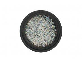 Zirkony na nehty Pixie 1mm - AB Crystal