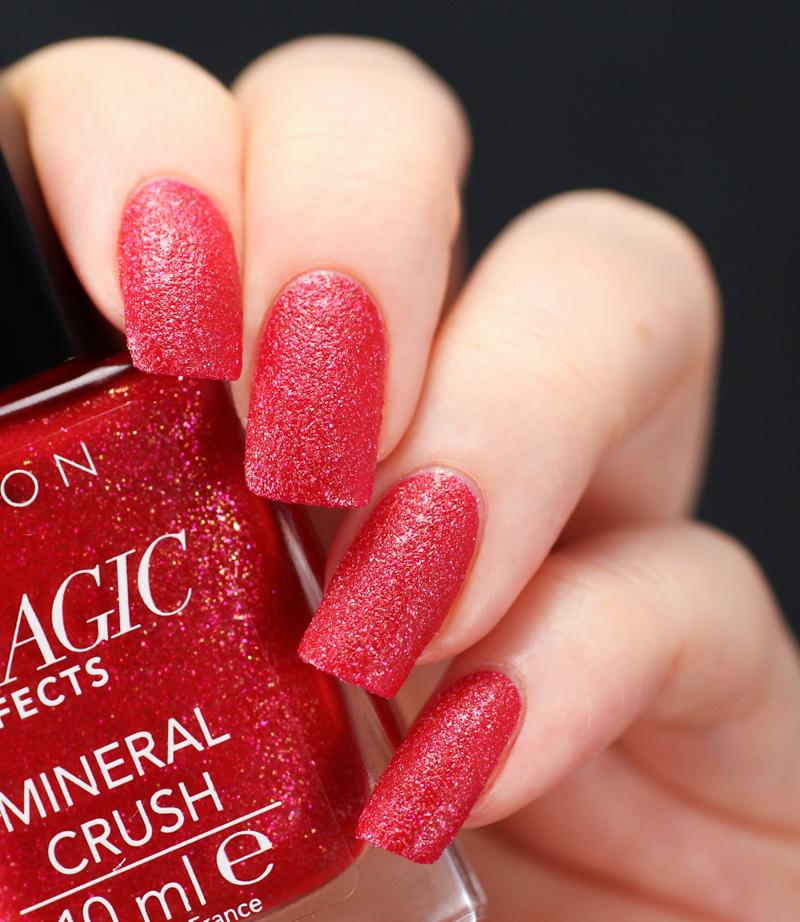 Avon Lak na nechty s pieskovým efektom - Ruby