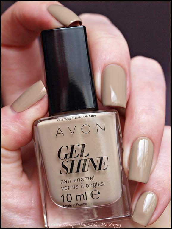 Avon Lak na nechty Gel Shine - Barely There