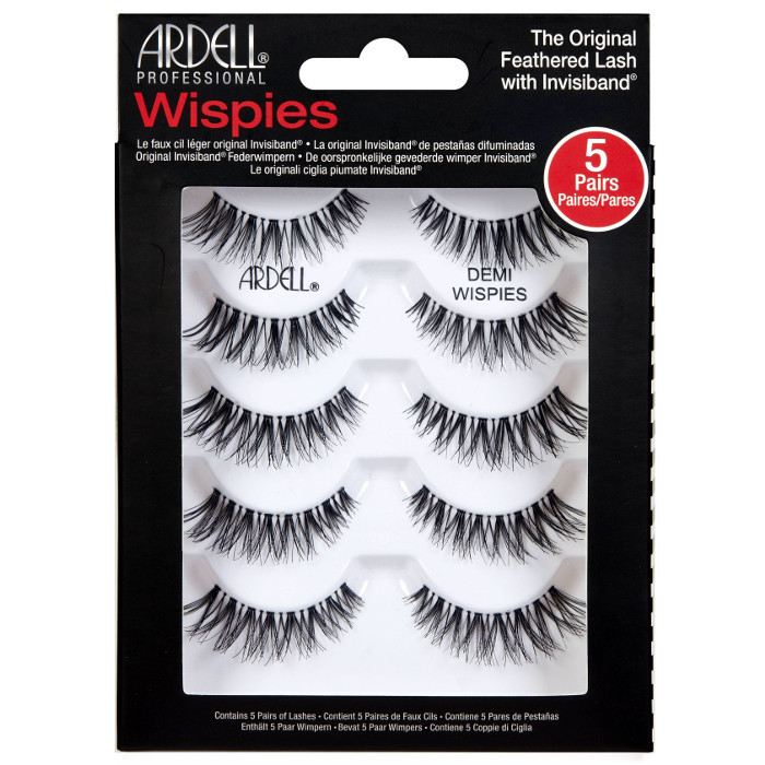 ARDELL Přírodní řasy WISPIES - 5-pack Demi Wispies