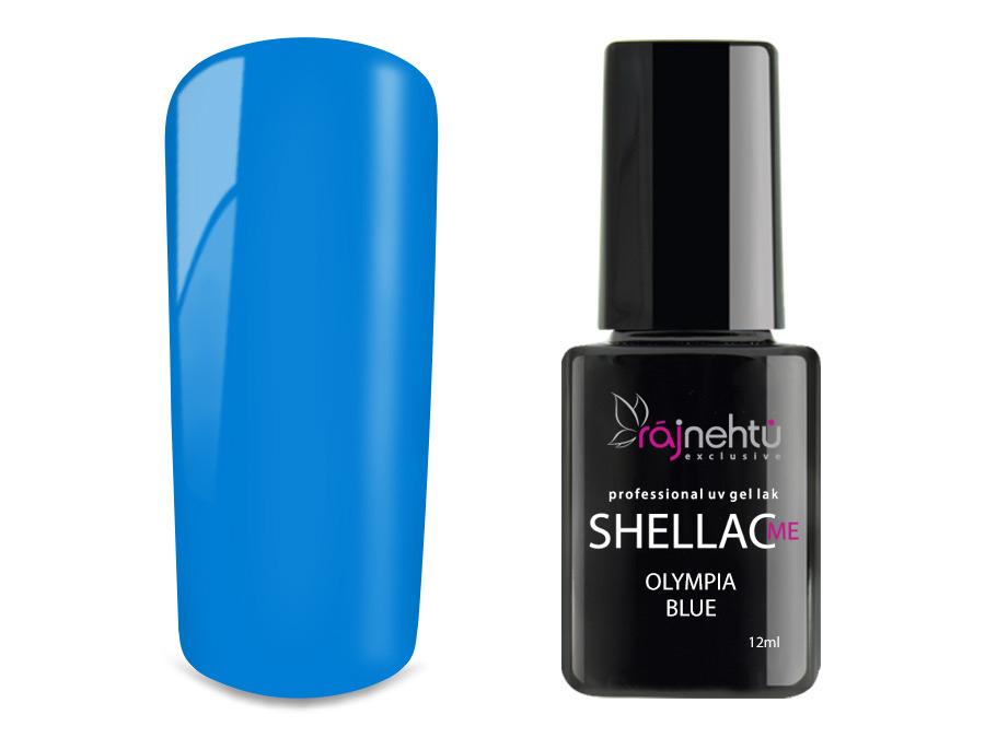Ráj nehtů UV gel lak Shellac Me 12ml - Olympia Blue