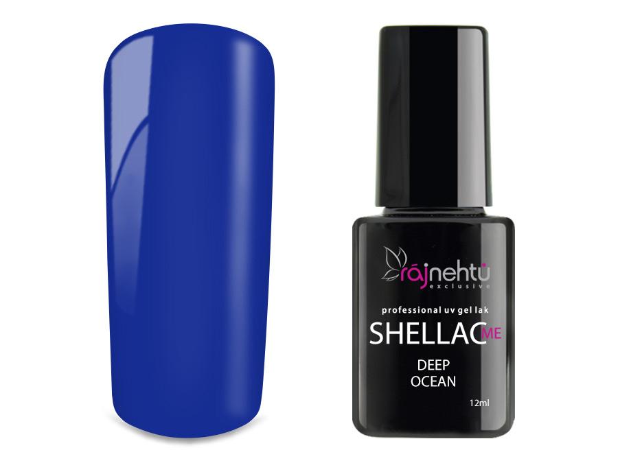 Ráj nehtů UV gel lak Shellac Me 12ml - Deep Ocean