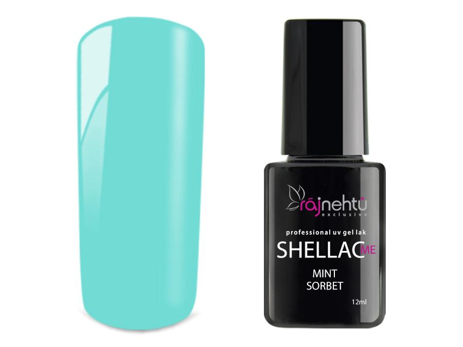Ráj nehtů UV gel lak Shellac Me 12ml - Mint Sorbet