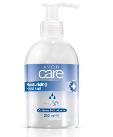 AVON Antibakteriální gel na ruce s 64% alkoholem