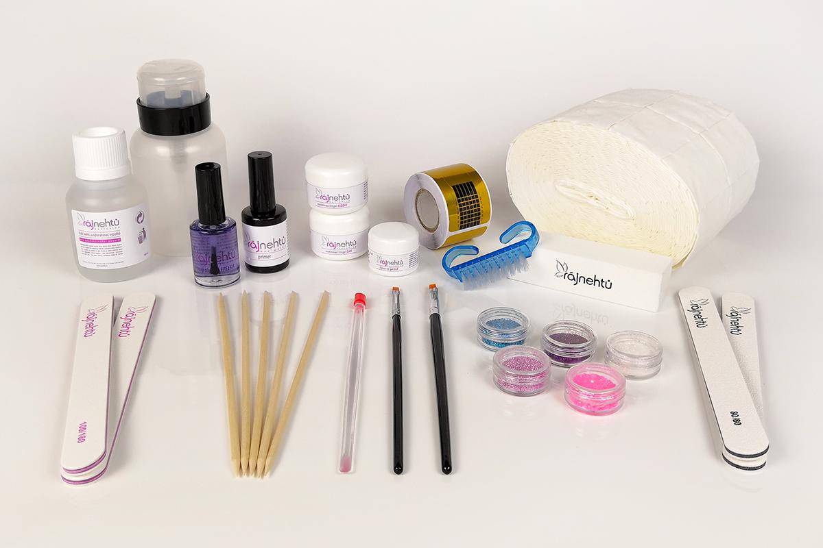 Súprava na gélové nechty PROFI Lampa: 1. bez UV lampy