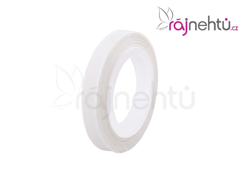 Zdobiaca páska vlnka - biela