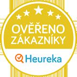 """Zlatý certifikát Heuréka """"Ověřeno zákazníky"""""""