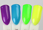 Fantasy Nails - barevné UV gely Neon