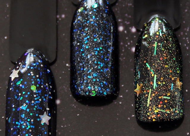 Fantasy Nails - barevné UV gely Galaxy