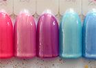 Perleťové UV gely