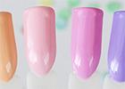 Pastelové UV gely
