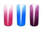 Thermo UV gely měnící barvu