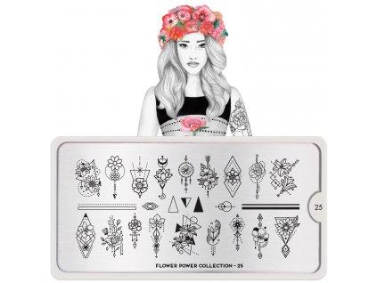 Flower Power nail art design 25