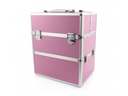 Kosmetický kufřík SENSE 2v1 - růžový