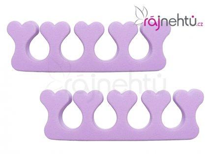 Oddělovač prstů (separátor) - fialový