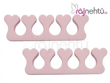 Oddělovač prstů (separátor) - růžový