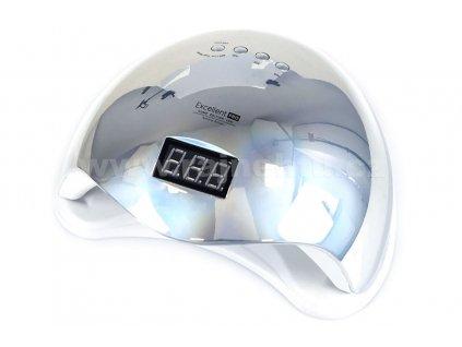 UV LED lampa 48W stribrna wm