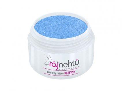 akrylovy prasek barevny Neon Blue
