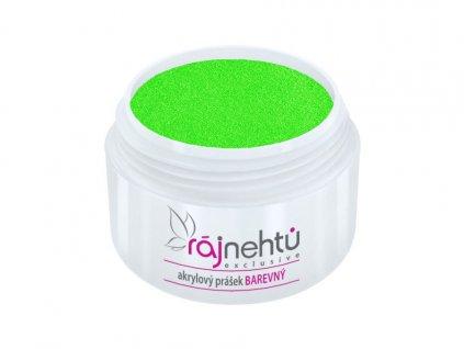 akrylovy prasek barevny Neon Green