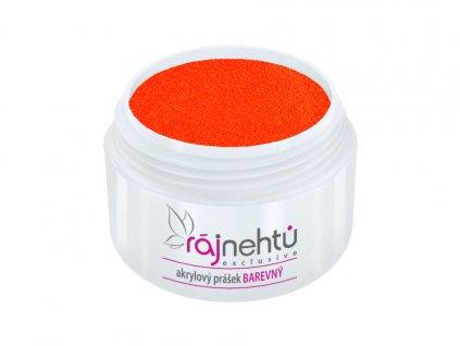 akrylovy prasek barevny Neon Orange 2