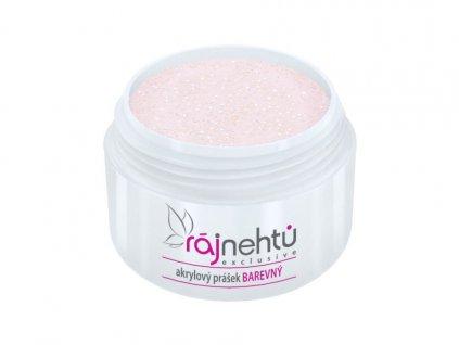 akrylovy prasek barevny Glimmer Light Pink 2