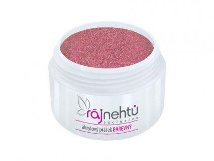 akrylovy prasek barevny Glitter Purple Rose 2