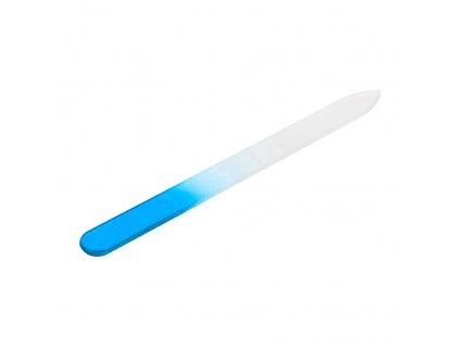 pilník skleněný modrý