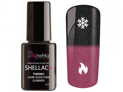 150108 Shellac Thermo DarkNude Pink Glimmer