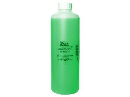 Odlakovač na nehty 500 ml - zelený