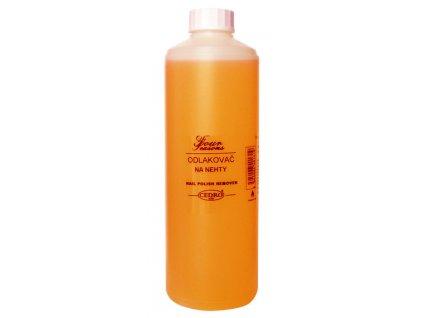 Odlakovač na nehty 500 ml - oranžový