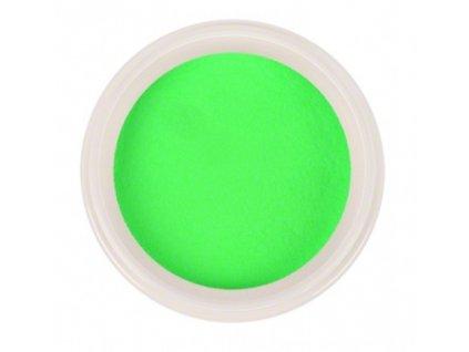Ráj nehtů - Akrylový prášek NEON - Green 5g