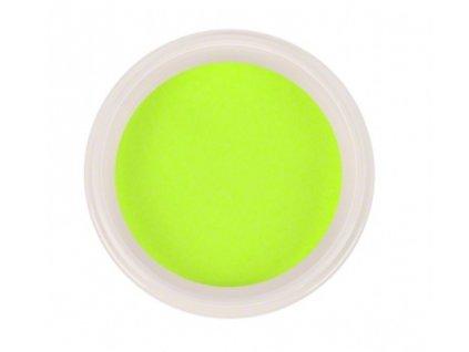 Ráj nehtů - Akrylový prášek NEON - Yellow 5g