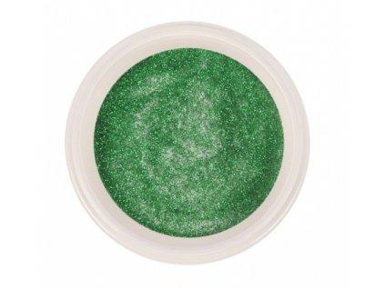 Ráj nehtů - Akrylový prášek GLITTER - Green 5g