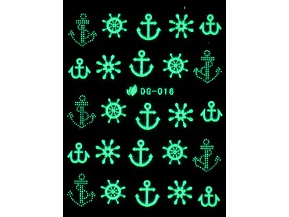 Vodolepky svítící ve tmě - Námořní