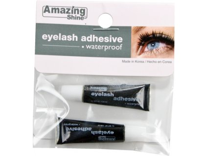 EYELASH ADHESIVE BLACK - lepidlo na řasy,černé 2x1g