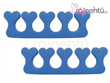 Oddělovač prstů (separátor) - modrý