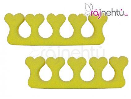 Oddělovač prstů (separátor) - žlutý
