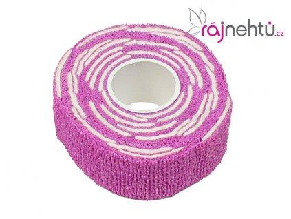 Bandáž s polštářky - růžová
