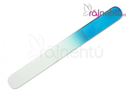 Pilník skleněný velký - modrý