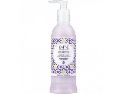 OPI - AVOJUICE krém na ruce - vanilka a levandule 250 ml