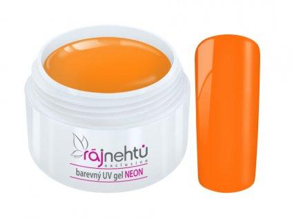 UV gel Neon Orange Oranzovy