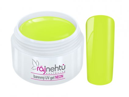 UV gel Neon Yellow Zluty
