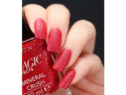 Lak na nehty s pískovým efektem - Ruby