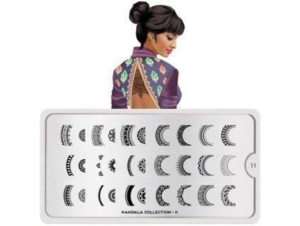 mandala nail art design 11