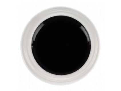 Ráj nehtů Barevný UV gel PURE - Straight Black - Černý - 5ml